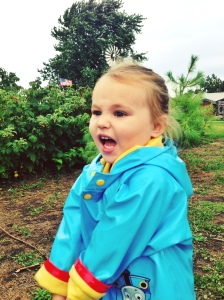 This is the level of enthusiasm we like to see at the berry farm!