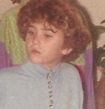 And  yes, my wild childhood involved a bowl-cut perm. Because what says freedom, like a perm?